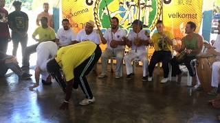 Mestre Joguinho (CDO Sumaré/Campinas) & Prof Lior Neve (Angola Ouro Verde)