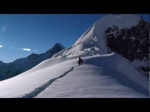 Climbing  Tharpu Chuli (Tent Peak), Annapurnas