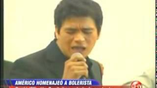 Américo canta a Lucho Barrios en funeral