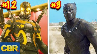 MCU Characters Suits Ranked From Worst To Best Looking