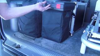 Loading up the Mobile DJ Micro System into my truck