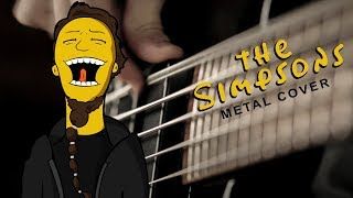 The Simpsons Theme (metal cover by Leo Moracchioli)