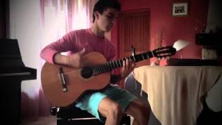 Eye Of The Tiger - Survivor (Igor Presnyakov) - Mathieu Cerepi (Acoustic Fingerstyle Guitar)