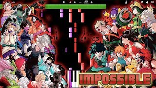 IMPOSSIBLE REMIX! ODD FUTURE - MY HERO ACADEMIA Opening 4 (Piano Tutorial) [Synthesia]