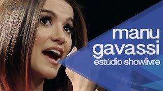 """""""Eu dou risada"""" - Manu Gavassi no Estúdio Showlivre"""