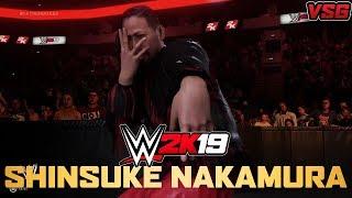 WWE 2K19: Shinsuke Nakamura Updated Entrance
