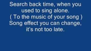 Morandi - Angels with lyrics. ;)