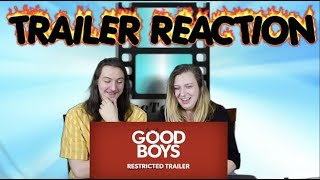 GOOD BOYS  Red Band Trailer Reaction #GoodBoys #GoodBoysTrailer #GoodBoysMovie