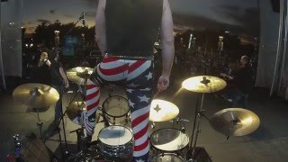 Cowboy's Heart - Live Drum Cam - Lance Carpenter