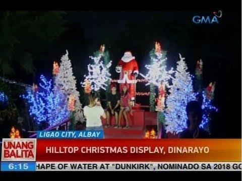 hilltop christmas display dinarayo - Hilltop Christmas