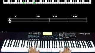 Sonda-me, usa-me - Aline Barros / Piano