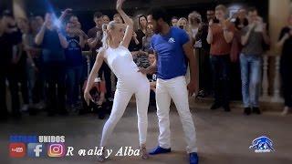 Ronald y Alba ➤ Ephrem J  -  Mia Yo Te Hare ➤ Workshop Vilnius Bachata 2017