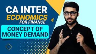 Concept of Money Demand