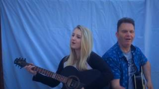 Me Singing 'Two Of Us' By The Beatles (With My Dad!)