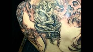 Shadowink tattoos calebs whole body in 3 months!