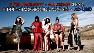 Fifth Harmony - All Again (Lead, Hidden/Background Vocals + Ad-libs)