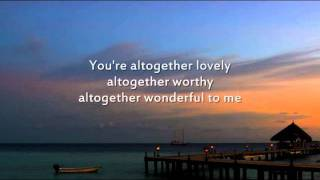 Here I am to Worship - Instrumental with lyrics