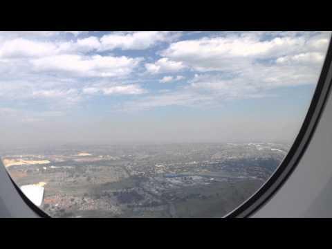Lufthansa A380 – Landing Johannesburg FAJS – RWY 03-R (HD)
