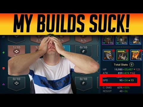 BUILD COACHING THE CLASSIC MISTAKE! | Raid: Shadow Legends