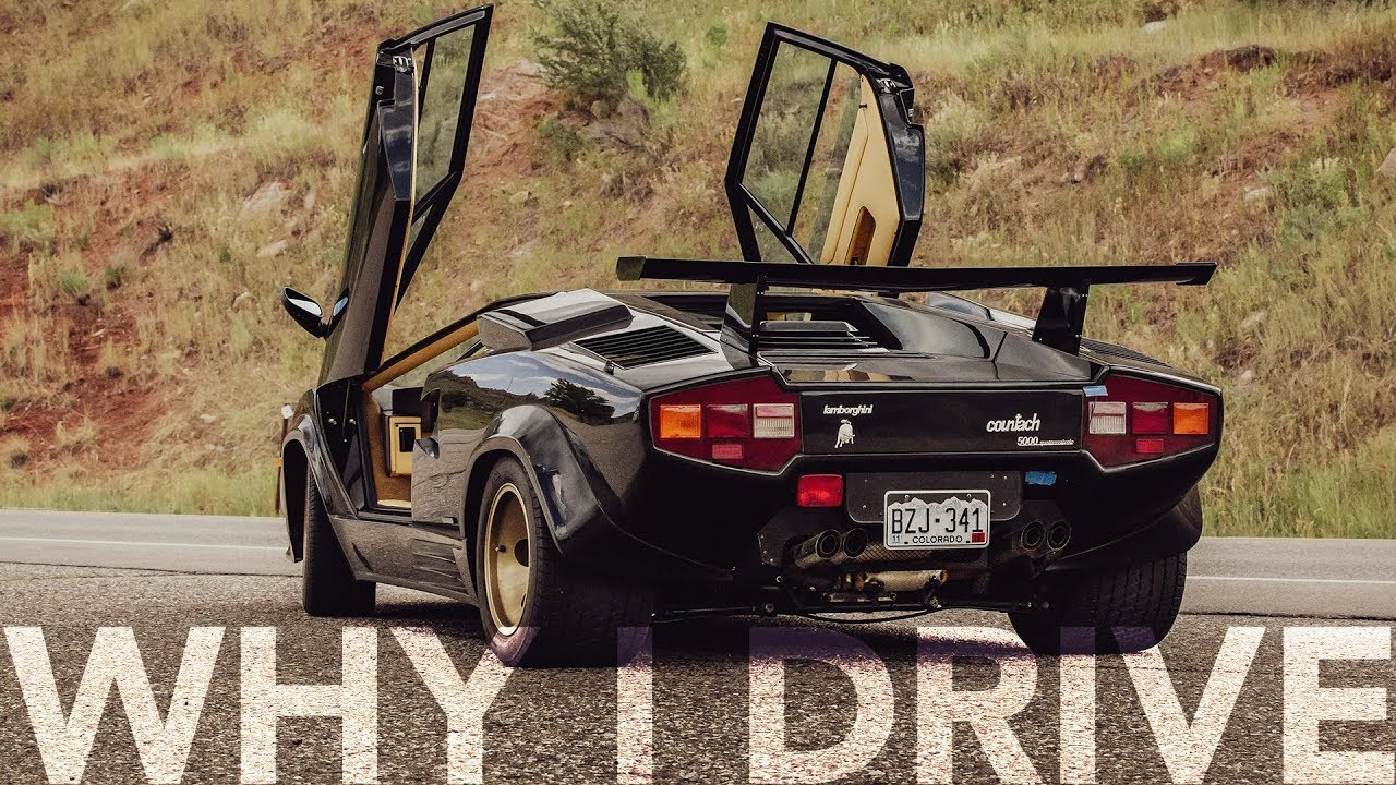 For this '88 Countach owner, tinkering under the hood is part of the sensory feast
