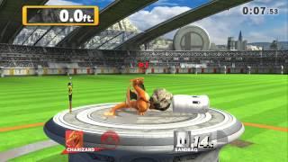Home Run Challenge - Charizard 358.9 ft. w/o Bat Super Smash Bros for Wii U