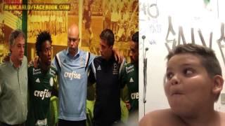 """Gordinho rindo do """"Palmeiras é grande"""""""