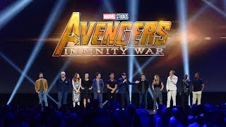HUGE Avengers: Infinity War cast gathering for Marvel panel at the D23 Expo 2017