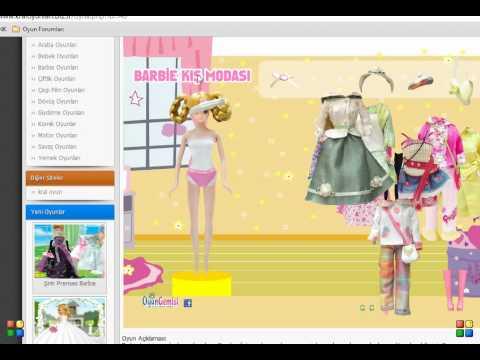Barbie Kış Modası Oyunu