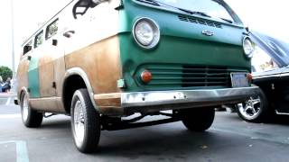 Slims Wheelie Van @ CARS AND COFFEE IRVINE CALIFORNIA USA