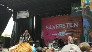 Silverstein - Ghost Ft. Caleb Shomo of Beartooth (New Song) Live At Atlanta Vans Warped Tour 2017