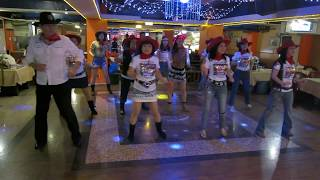 Twist and Shake Line Dance(By Sylvie Roy)