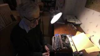 Woody Allen & his Typewriter