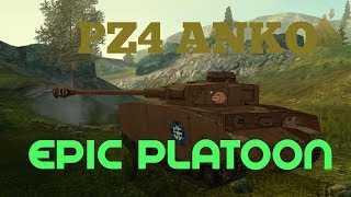 Epic pz4ankos anime platoon-pure gameplay, no editing