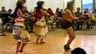 The Pacific Island Dancers-War Chant