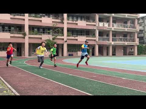 昱樑百公尺決賽精彩實況 - YouTube