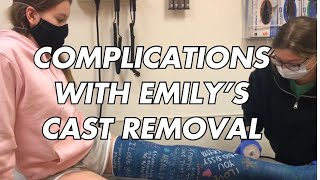 Emily's Cast is Finally Removed!/Rhoadsoflife