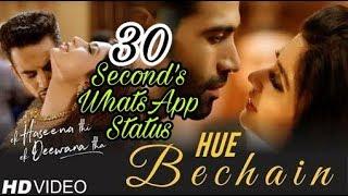 Hue Bechain Pehli baar | WhatsApp Status Video | Ek Haseena Thi Ek Deewana Tha |HD|