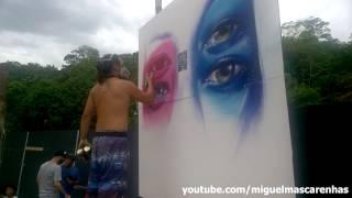 O grafite de Liam Bononi e Vinicius BIanchi na Perfect Line - Verão 2017