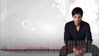 Enrique Iglesias - Let me be your lover traduzione