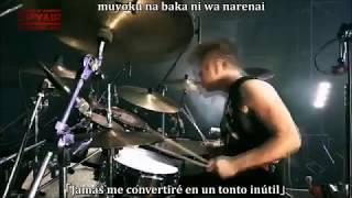 Rage Of Dust (LIVE)sub-español-romanji SPYAIR