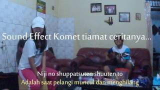 Yume Tourou - RADWIMPS (LIVE Acoustic Cover) Japaneese Ver. with Sub. Indonesia