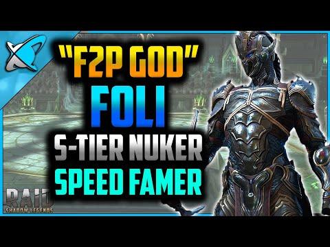 """F2P GOD"" Foli Build & Guide | Speed Farmer & S-tier Nuker ?! | RAID: Shadow Legends"