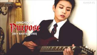 [3D+BASS BOOSTED] BTS (방탄소년단) JUNGKOOK - PURPOSE (#HappyJungkookDay 160901) | bumble.bts