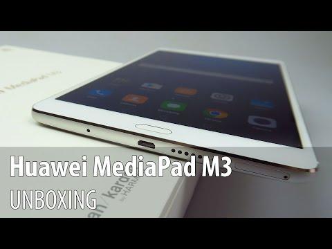 Huawei MediaPad M3 Unboxing în Limba Română