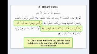 BAKARA SURESI ( 1-5. AYETLER )