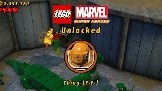 Lego Marvel-Unlock Thing FF