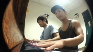 Jay Chou- Secret 4 Hands Piano Duet (Cover)~