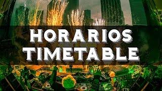 Ultra Music Festival 2017 MIAMI - HORARIOS / TIMETABLE | ¿Dónde verlo?