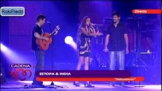 """Estopa e India - Natutaleza """"Concierto 20 Aniversario Cadena 100"""" Junio 2012 (En Directo)"""