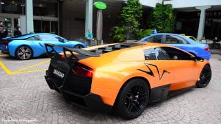 Brutally loud Murcielago SV with Powercraft exhaust!